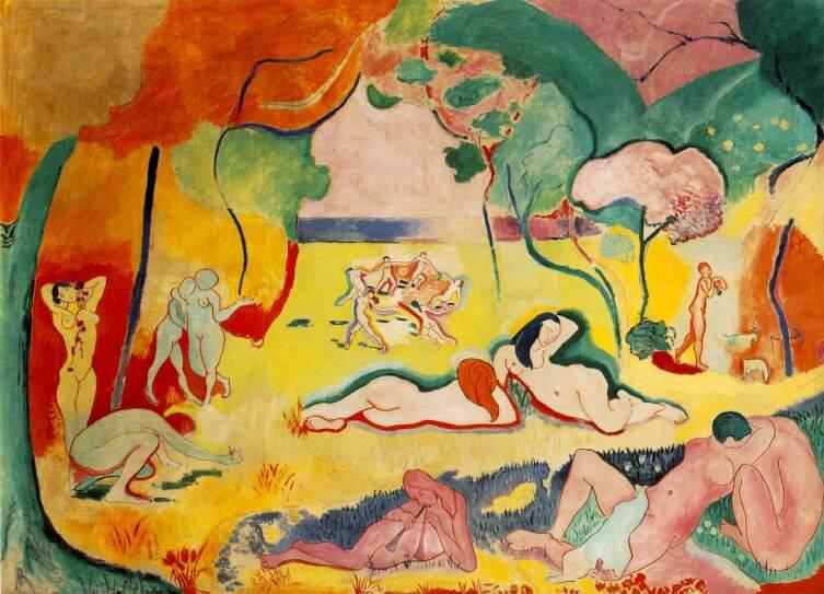 Анри Матисс, «Радость жизни», 1906 г.