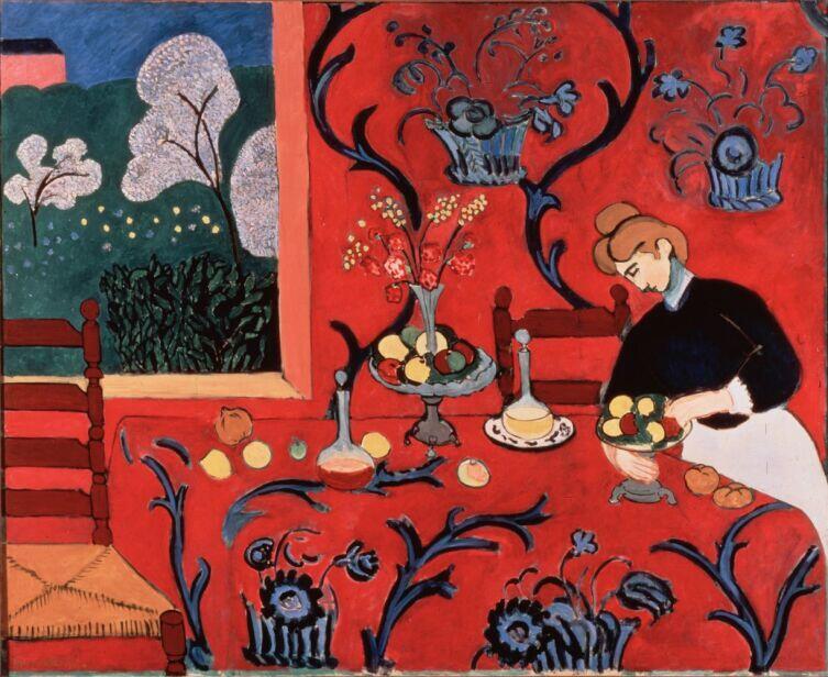 Анри Матисс, «Гармония в красном», 1908 г.