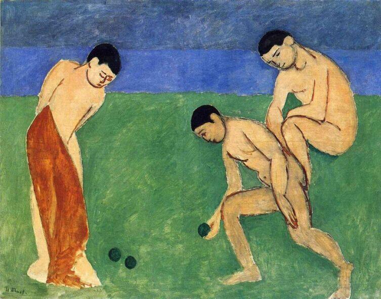 Анри Матисс, «Игра шарами», 1908 г.