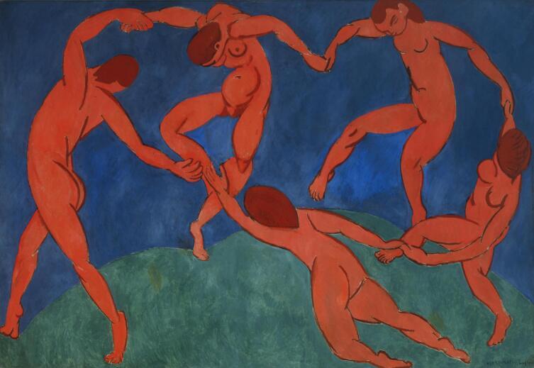 Анри Матисс, «Танец (II)», 1910 г.
