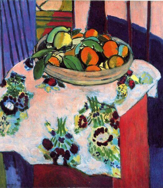 Анри Матисс, «Натюрморт с апельсинами», 1913 г.