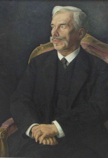 Д. Мельников, «Сергей Иванович Щукин», 1915 г.