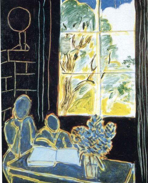 Анри Матисс, «Тишина, которая живет в домах», 1947 г.