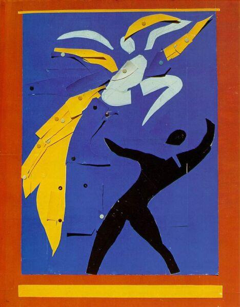 Анри Матисс, «Два танцора», 1938 г.