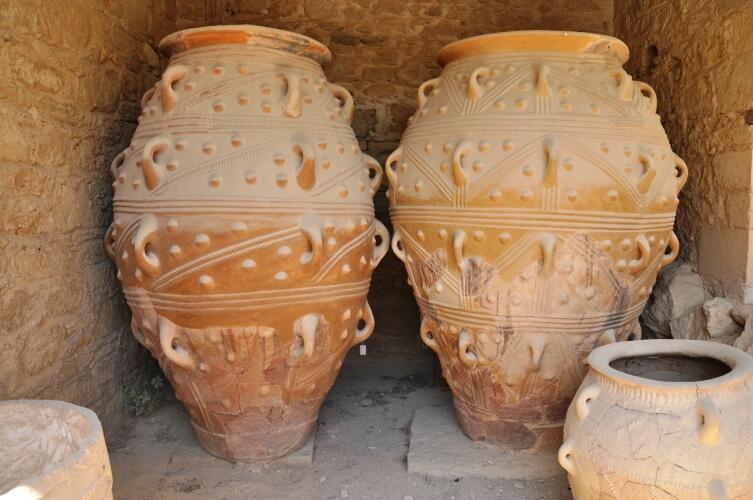 Раскопки в Кносском дворце на о. Крит