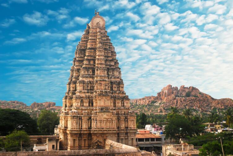 Храм в Хампи, Индия