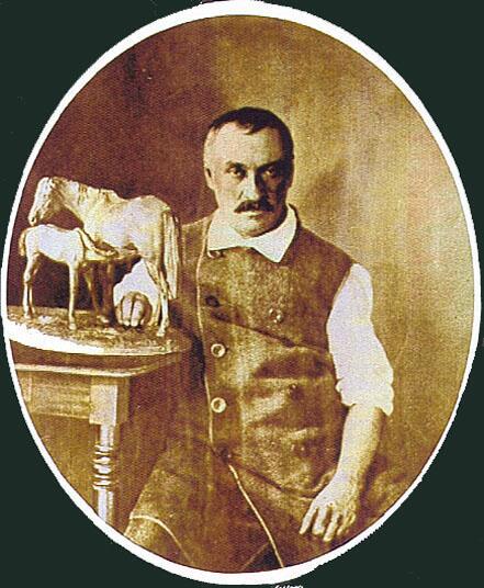 Портрет Петра Ивановича Клодта в последние годы жизни