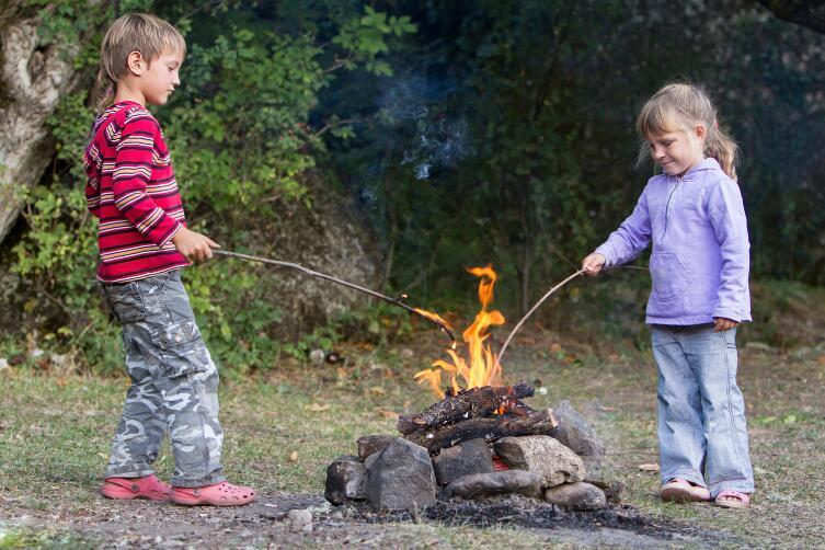 Детские страхи – какие они? Темнота, огонь, смерть...
