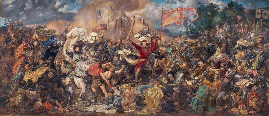 Ян Матейко, «Битва при Грюнвальде», 1878 г.