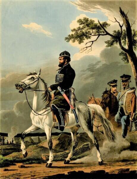Денис Давыдов, 1814 г.