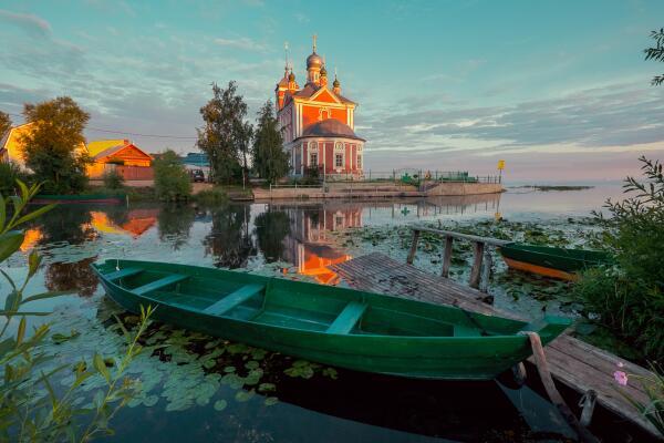 Где можно хорошо отдохнуть недалеко от Москвы? Плещеево озеро