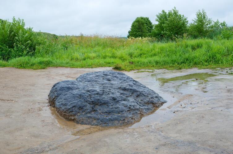 Синь-Камень, Плещеево озеро