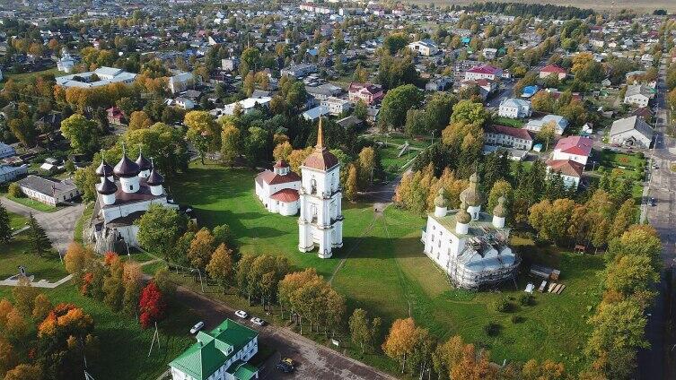 Каргополь - соборная площадь