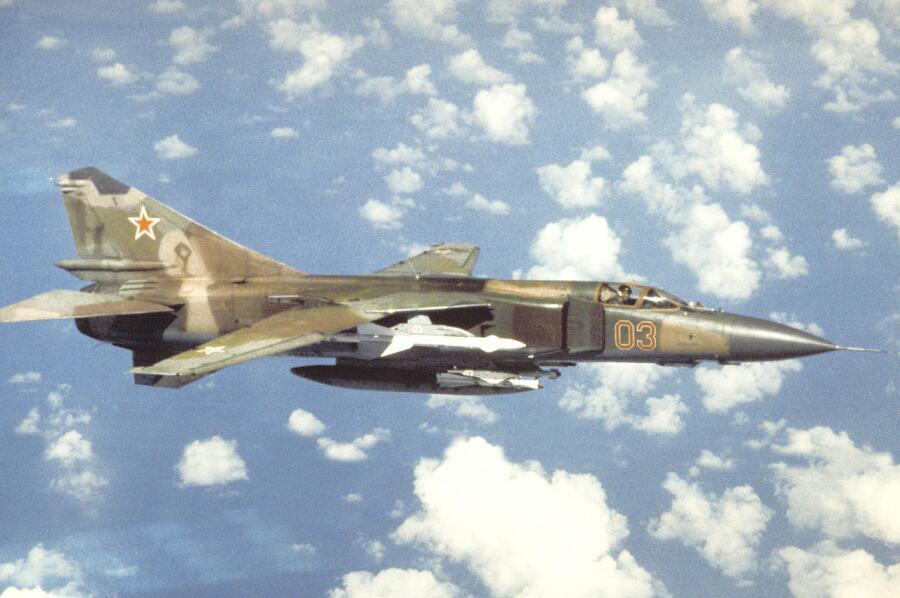 МиГ-23 ВВС СССР