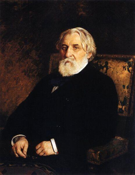 И. Е. Репин, «Портрет писателя И.C.Тургенева», 1874 г.