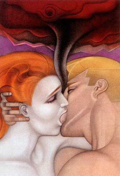 Мелл Одом, «Страстный поцелуй»