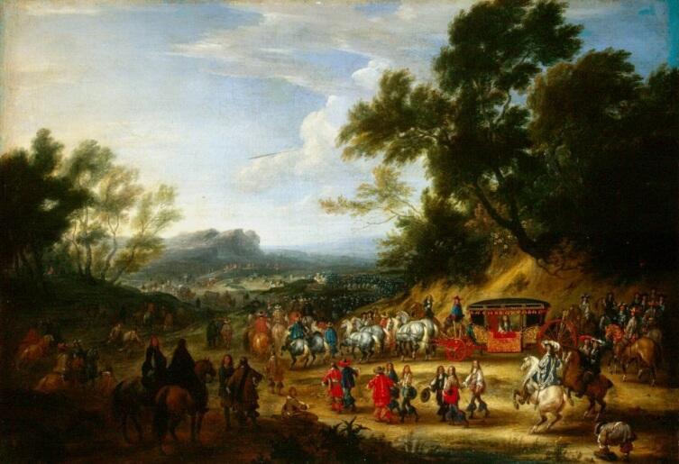 Ван Мейлен, «Путешествие Людовика XIV»