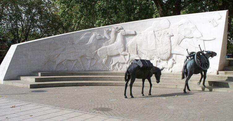 Мемориал «Животные на войне»