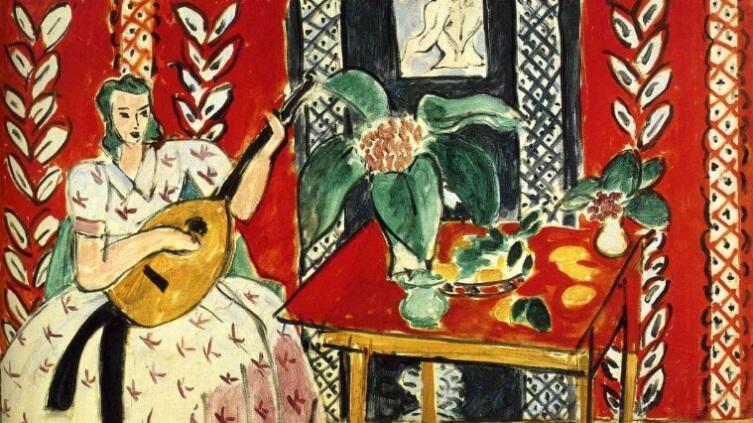 Анри Матисс, «Лютня», 1920 г.