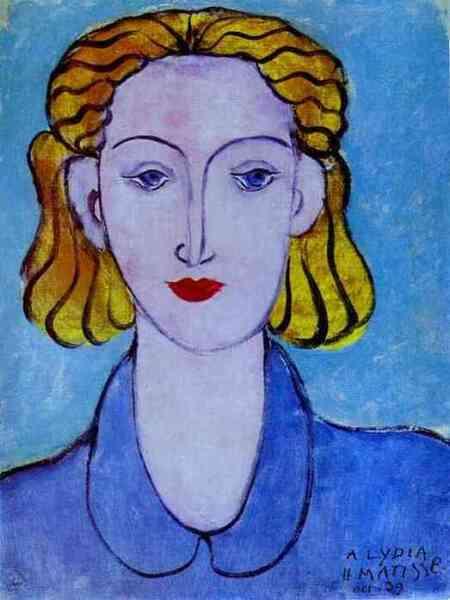 Анри Матисс, «Девушка в голубой блузке», 1939 г.