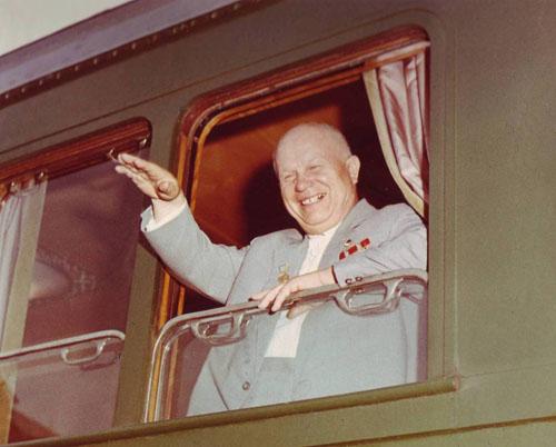 Н. С. Хрущёв в 1962 г.