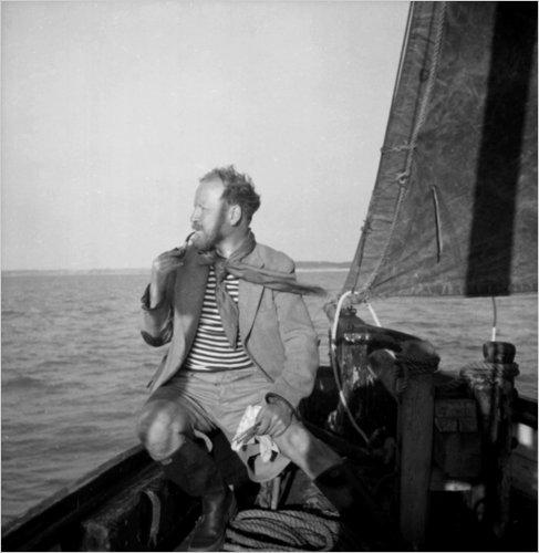 У. Голдинг в 1957 г.