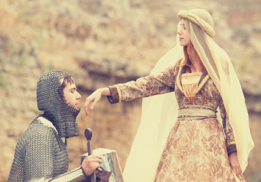 Каким был идеал женской красоты в Средние века?