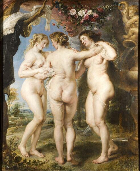 Питер Пауль Рубенс, «Три Грации», 1634 г.