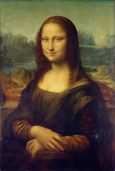 Леонардо да Винчи, «Портрет госпожи Лизы дель Джокондо», 1503—1519 гг.