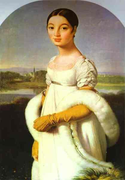 Жан Огюст Доминик Энгр, «Портрет мадемуазель Ривьер», 1805 г.