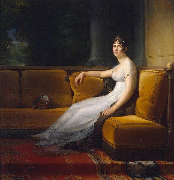Франсуа Паскаль Симон Жерар, «Портрет Жозефины, жены Наполеона»