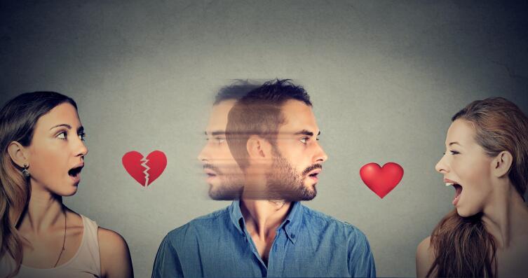 Когда складываются любовные треугольники?