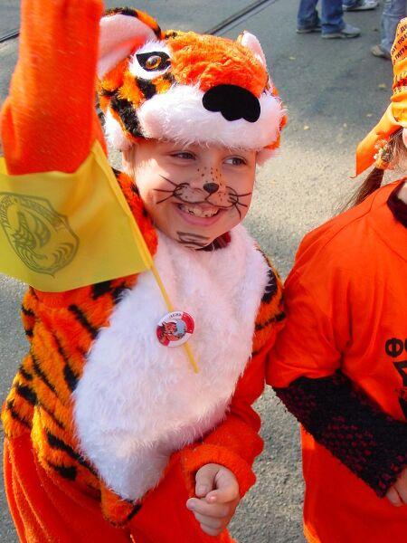 Празднование Дня тигра во Владивостоке, 2006 г.