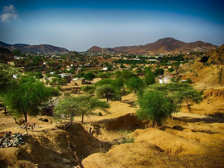 Эритрейский пейзаж