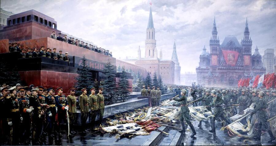 М. И. Хмелько, «Триумф победившей Родины»