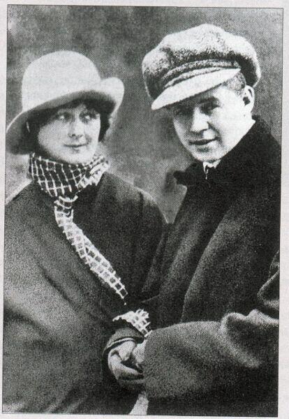 Есенин и Айседора Дункан, 1922 г.