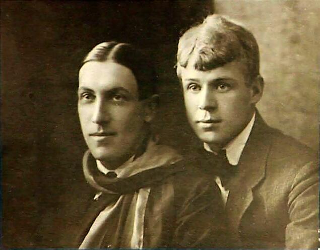 Мариенгоф и Есенин, лето 1919 г.