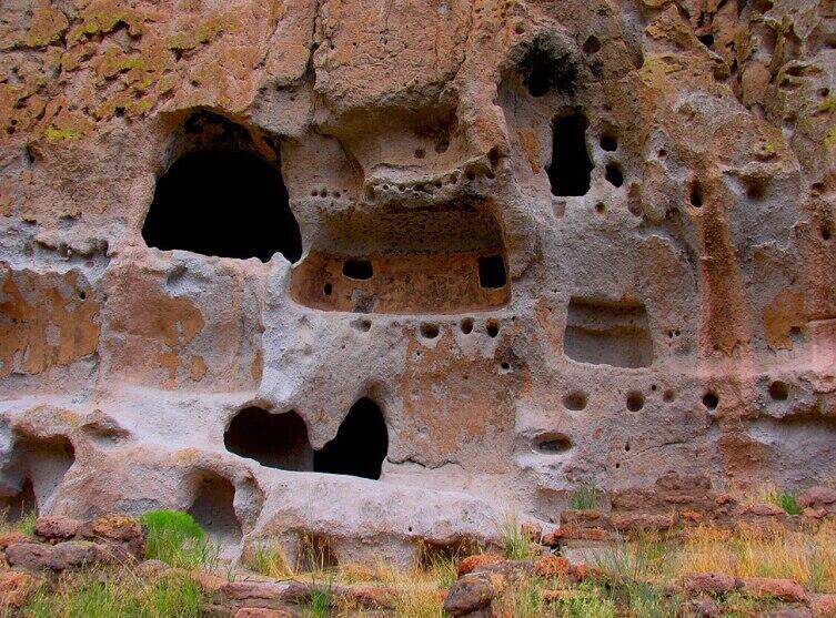Жилища народа пуэбло. Бандельер, штат Нью-Мексико