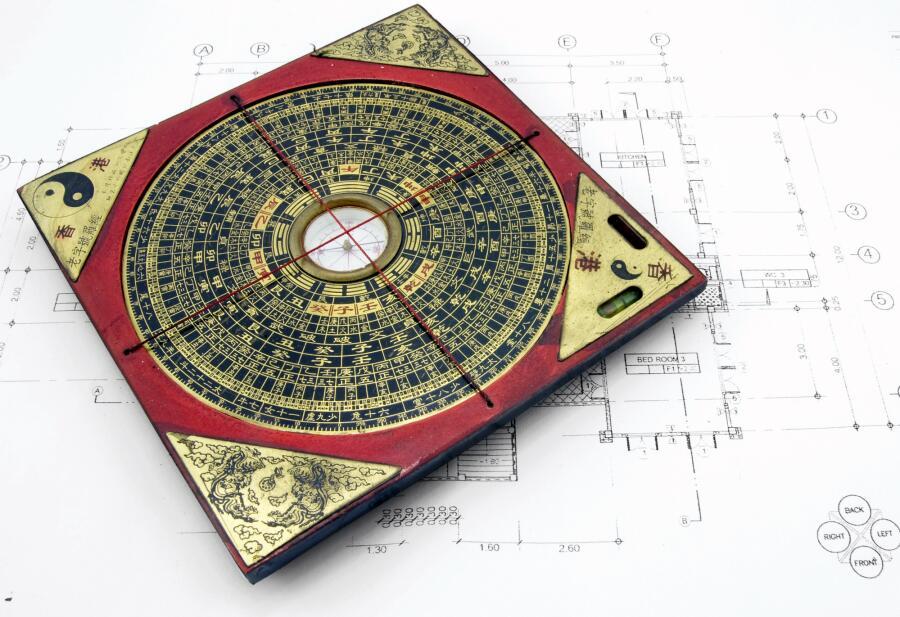 Лопань - китайский компас для фэн-шуй