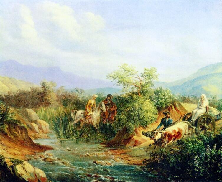 М. Ю. Лермонтов, «Сцена из кавказской жизни»,  1838 г.
