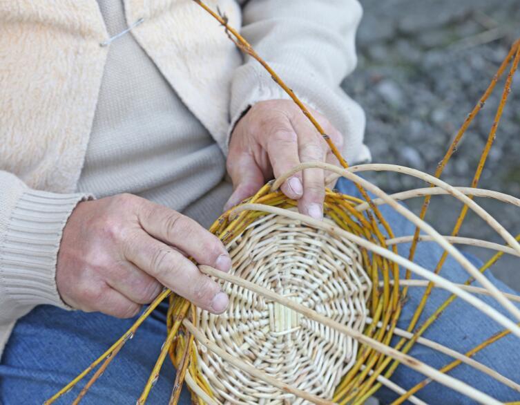 Из чего плетут корзины?