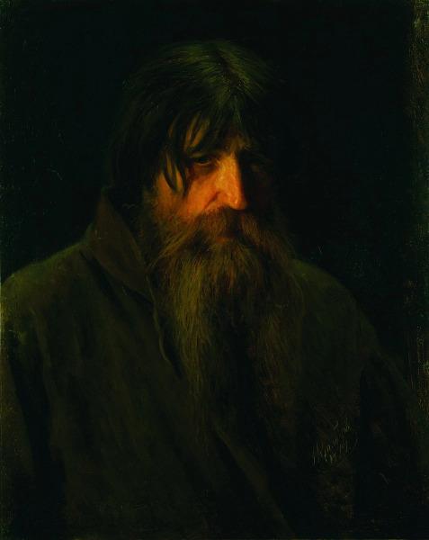 И. Н. Крамской, «Голова старого крестьянина», 1874 г.