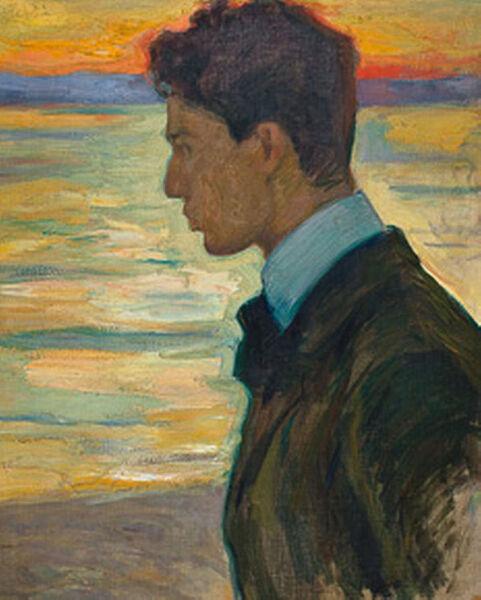 Леонид Пастернак, «Борис Пастернак», 1910 г.