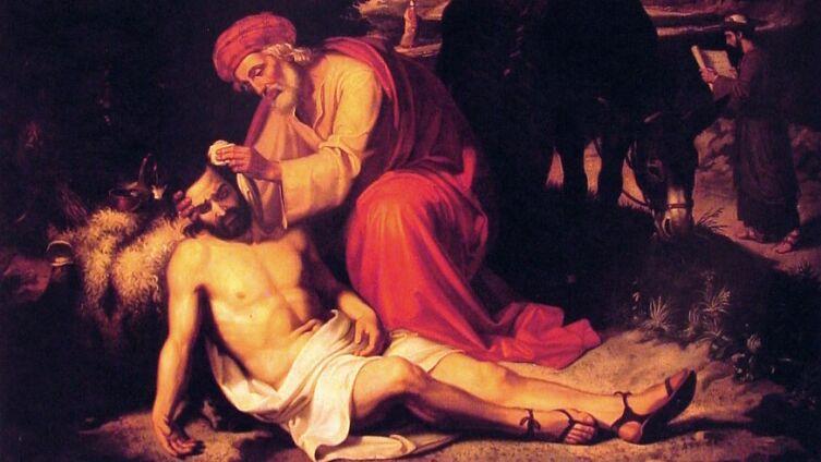 Хосе Тапиро Баро, «Добрый самарянин»