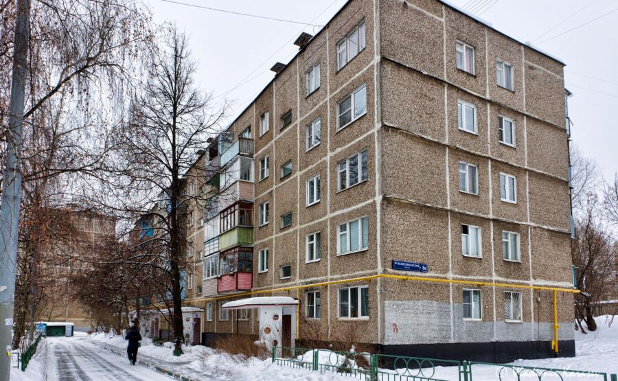 Хрущевка серии 1-464А в Москве