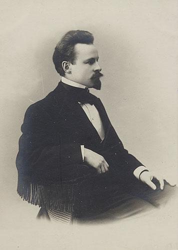 К. Д. Бальмонт в 1880-е гг.