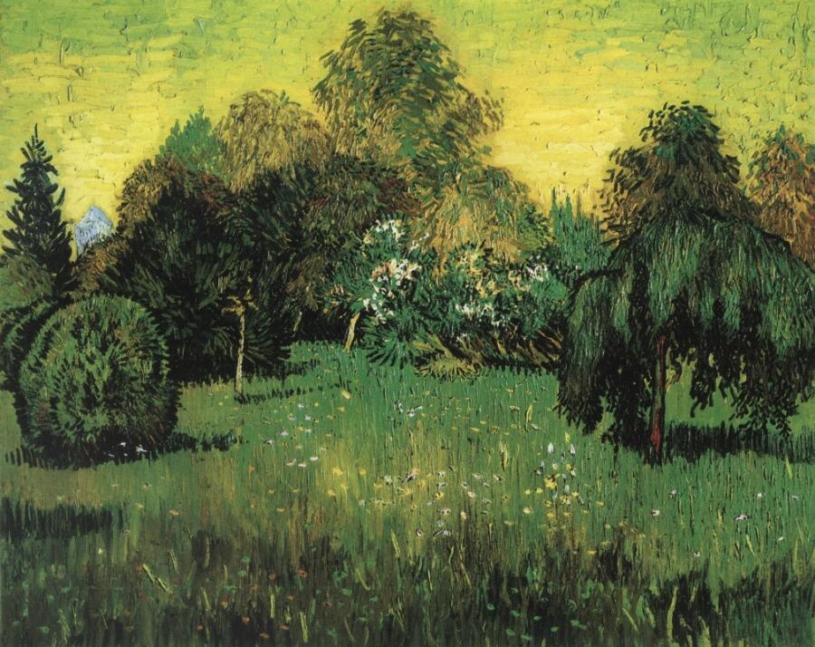 Винсент Ван Гог, «Сад поэта», 1888 г.