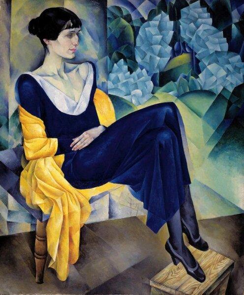 Н. И. Альтман, «Портрет А. А. Ахматовой», 1914 г.