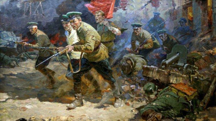 А. Н. Семенов, «В бой с «Интернационалом»»