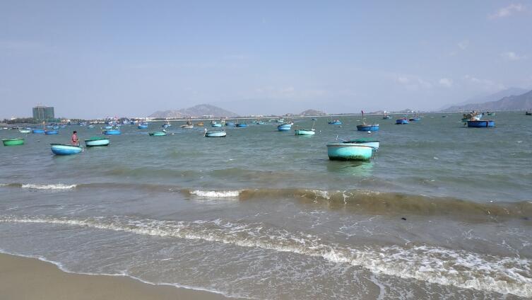 Вьетнамские рыбачьи лодки